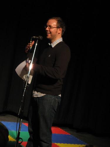 Jonathan Messinger @ Encyclopedia Show Feb. 4 2009