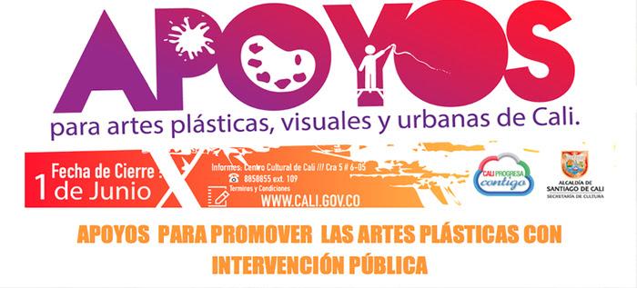 Apoyos  para promover  las Artes Plásticas con Intervención Pública