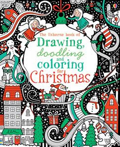 Picture of Christmas Drawing Doodling and Coloring