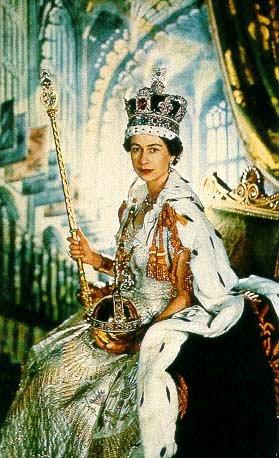 queen elizabeth 2nd coronation. Queen Elizabeth II.