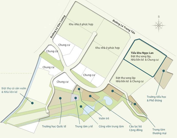 Quy hoạch tổng thể khu đô thị Park City