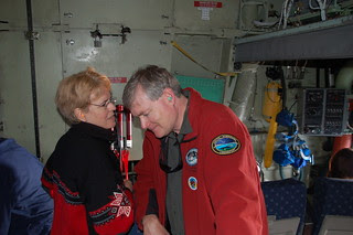 Dr. Lubchenco (NOAA) and Mead Treadwell, Chair...
