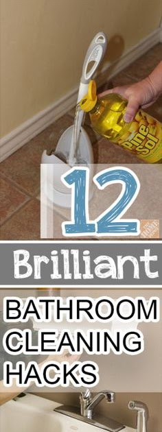Fitness and beauty 12 brilliant bathroom cleaning hacks for 9 bathroom cleaning problems solved
