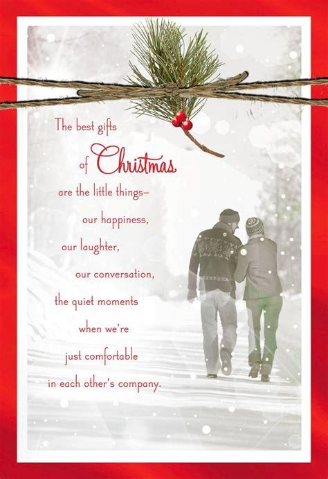 You're the Best Gift Christmas Love Card   Greeting Cards