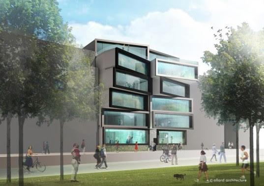 PREFAB: Playful Office Building Planned for Amsterdam   Inhabitat ...