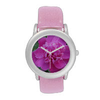 Peony Pink Bloom Watches