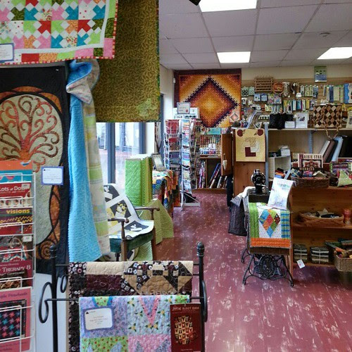 The Quilted Bear in Ladner. #LQSday what am I supposed to tag this with? #loveyourlocalquiltshop