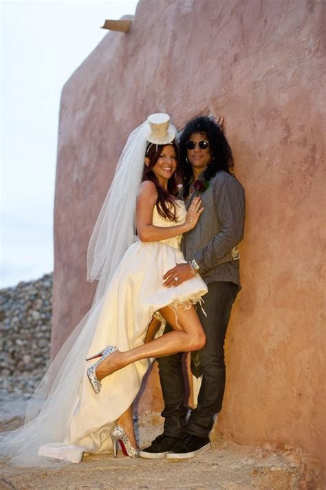 Perla and Slash   Beautiful Brides and Grooms   Pinterest