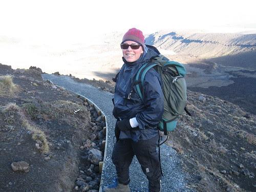 climbing day 2 Tongariro