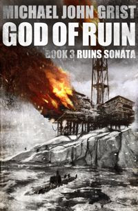 Original cover for God of Ruin
