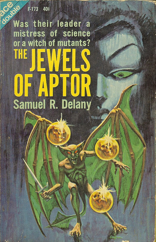 Jack Gaughan - Cover Illustration for Samuel R. Delany - Jewels of Aptor, 1962