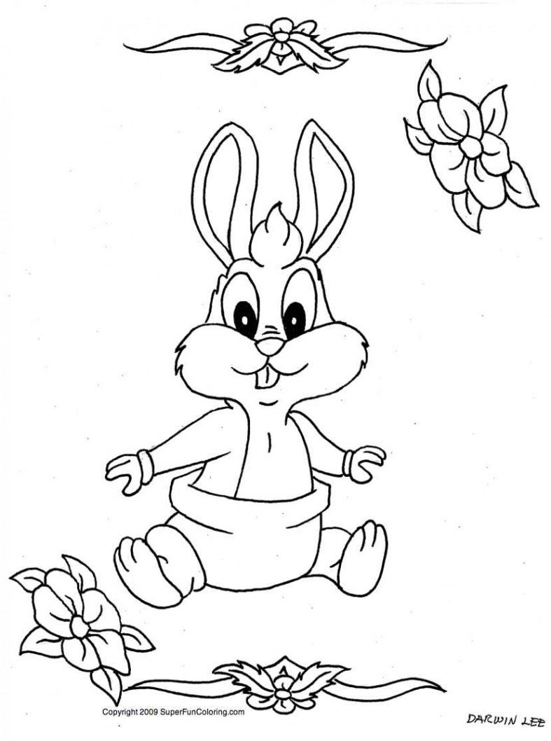 Tavşan Boyama Kitabı Resimleri Ve Fotoğrafları