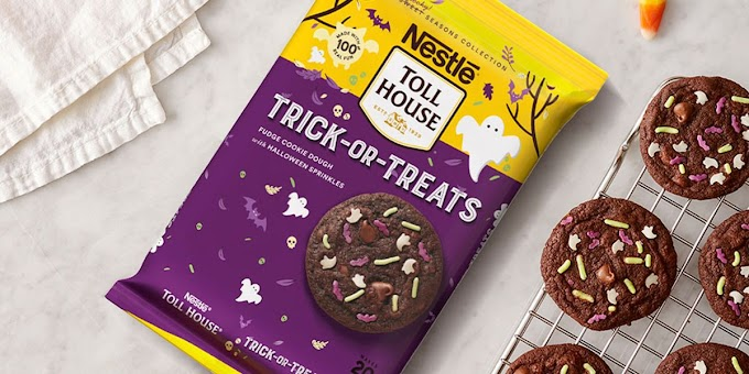 Nestlé Toll House Has New Fudgy Cookie Dough With Spooky Sprinkles for Halloween