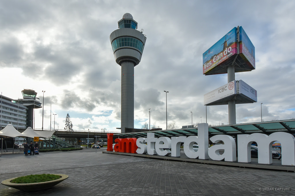 160210 1054 I Amsterdam Sign Schiphol Airport Amsterdam The Netherlands