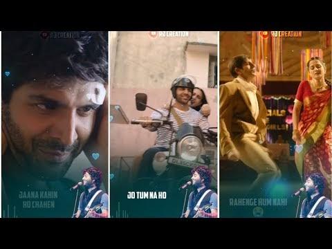 Arijit Singh - Shayad Full Screen Status | Love Aaj Kal