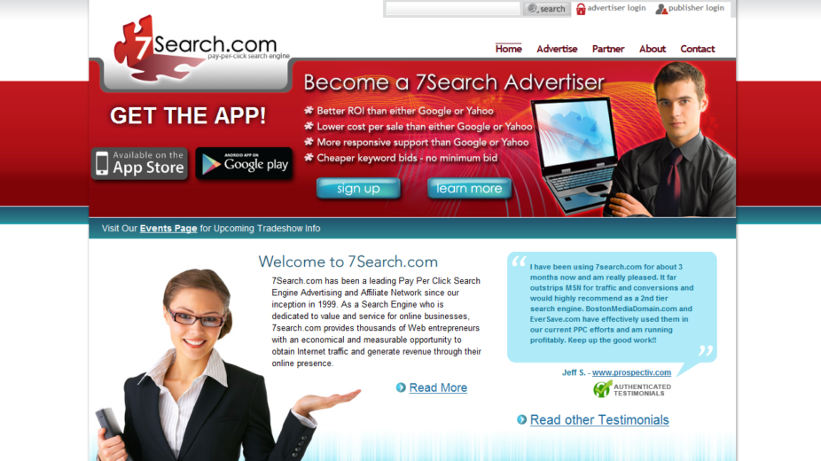 7search's website