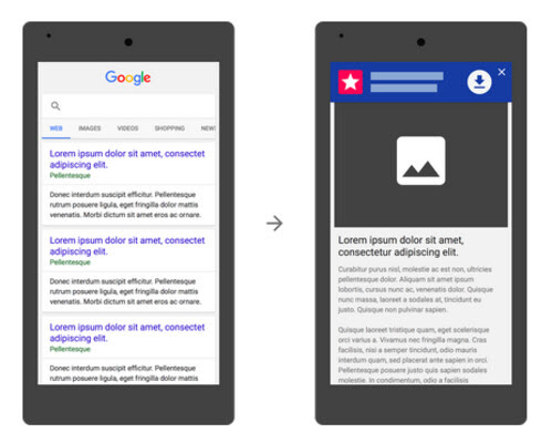 Google wants app install ads to be of the banner variety
