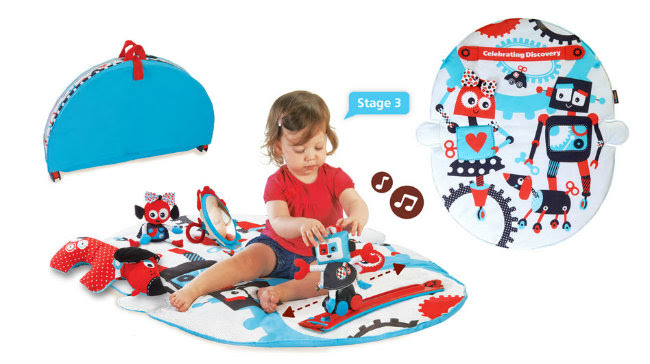 Robo Playland Giveaway toddler