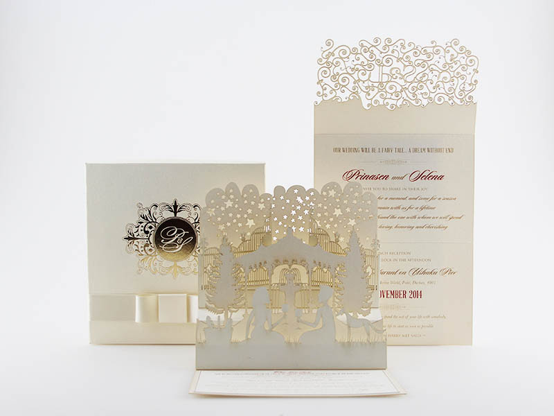 K'Mich Weddings - wedding planning - Laser cut - Secret Diary