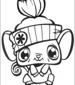 Coloriage Littlest Pet Shop Gratuit A Imprimer