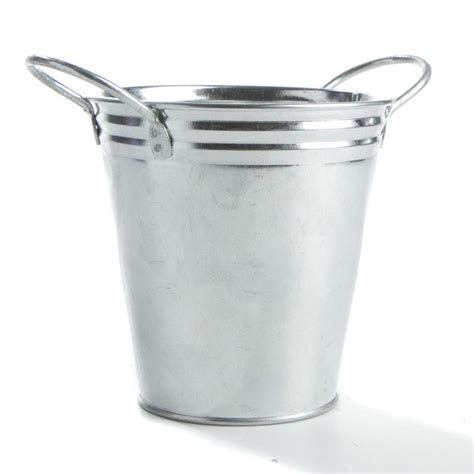 Galvanized Metal Bucket   Kitchen and Bath   Home Decor