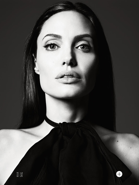 Angelina Jolie by Hedi Slimane Elle US 14