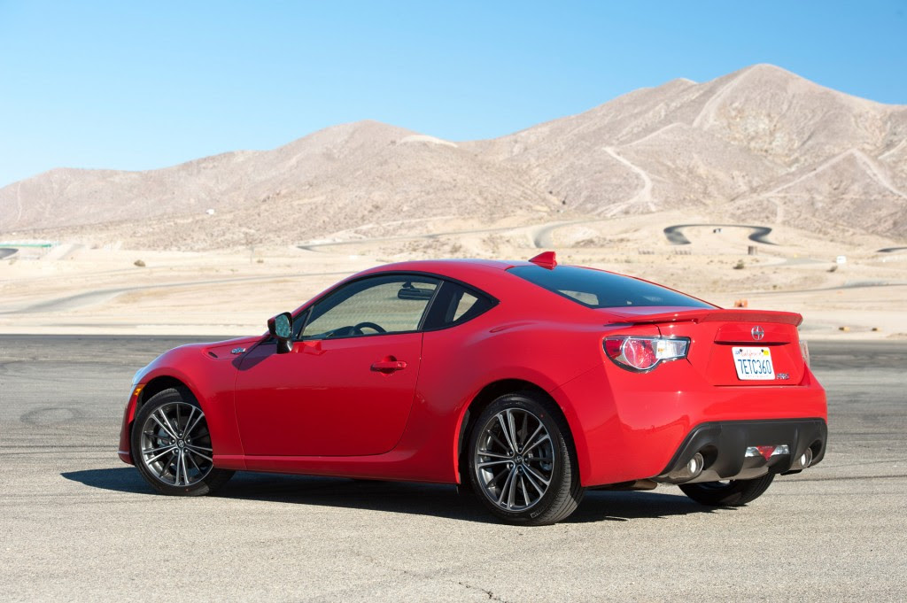 minor updates for 2016 scion frs