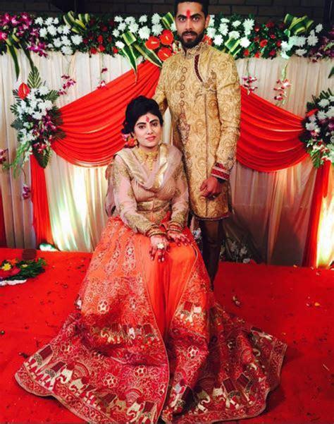 Ravindra Jadeja Got Engaged to Reeva Solanki