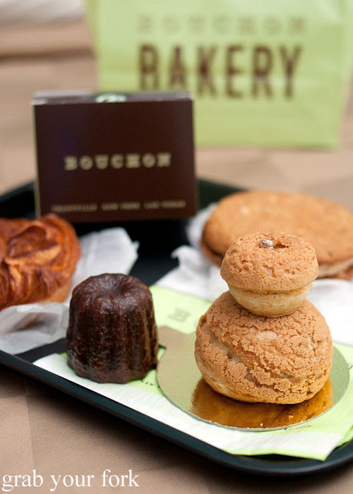 cannele and religieuse from bouchon bakery beverly hills la los angeles