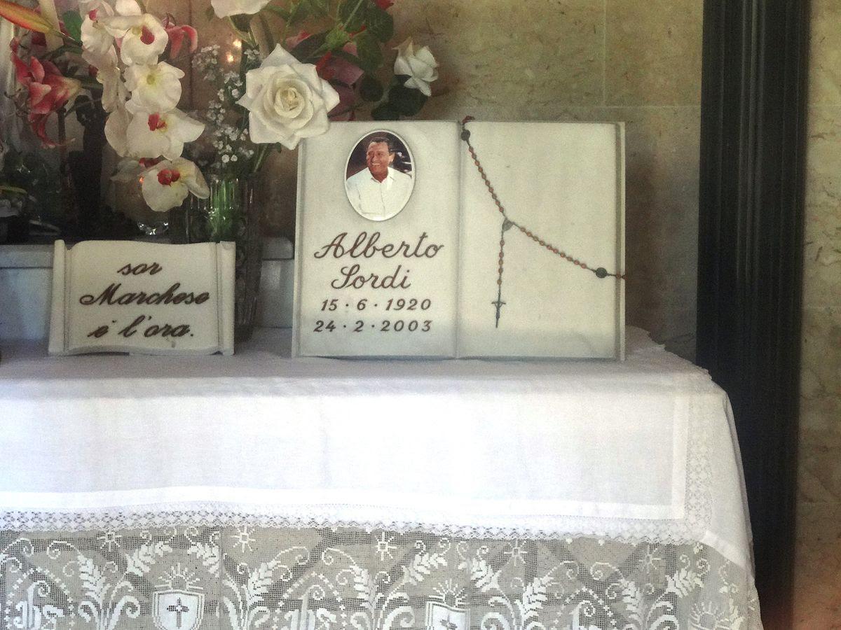 File:Alberto Sordi 's Tombstone.JPG