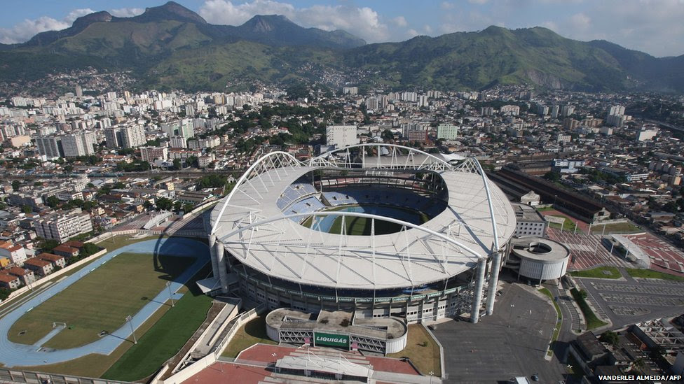 Rio De Janeiro Olympic Stadium submited images.