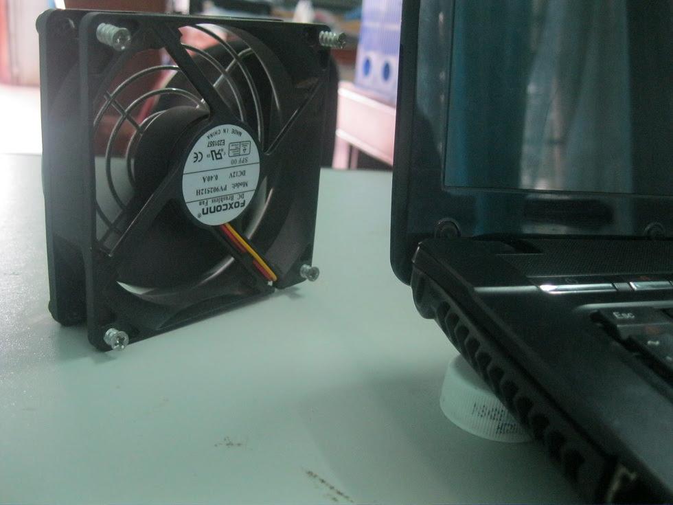Q59xW [Hướng dẫn DIY] Chế quạt làm mát laptop