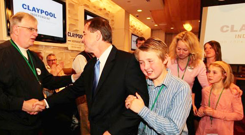 Image result for forrest claypool with pfleger