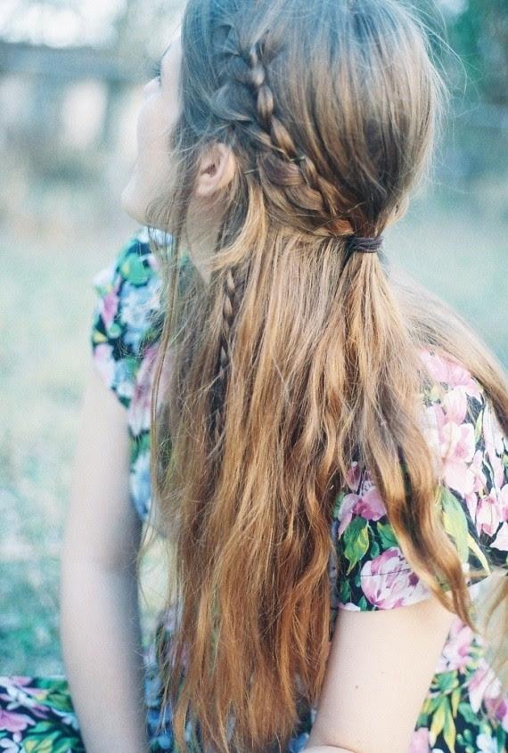 Braided Hairstyles For Long Thin Hair Easy Braid Haristyles