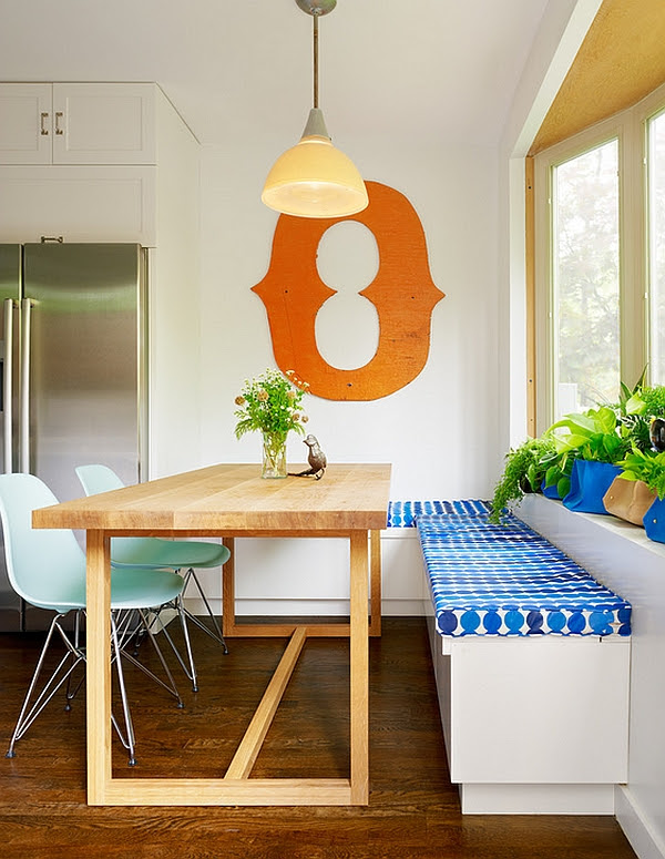 Exciting Look Of Kitchen Table With Bench Plans Ideas 4 Homes