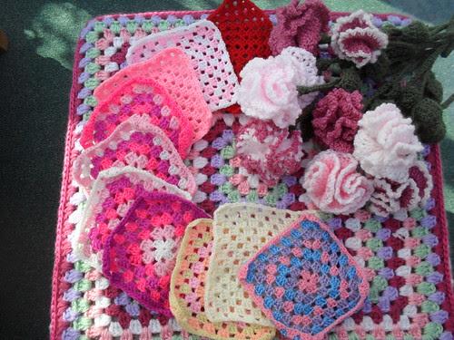 Such pretty Granny Squares, thank you!