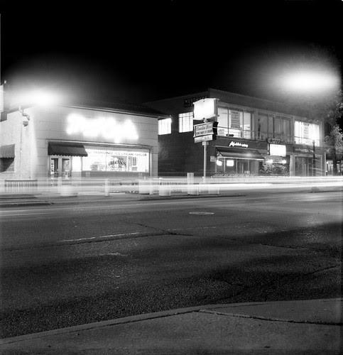 Highland Square at Night