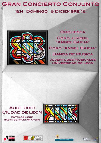 CONCIERTO CONJUNTO JUVENTUDES MUSICALES-UNIVERSIDAD DE LEÓN by juanluisgx