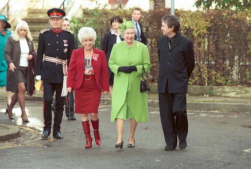 Queen Elizabeth II visits BBC Ellstree by AbouttheBBC