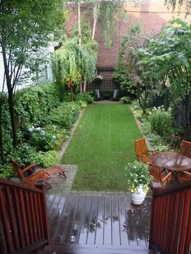 Decoración de patios pequeños