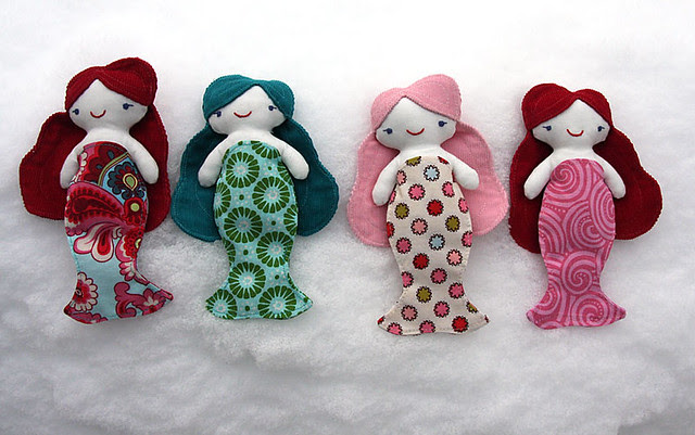 Snow Mermaidens