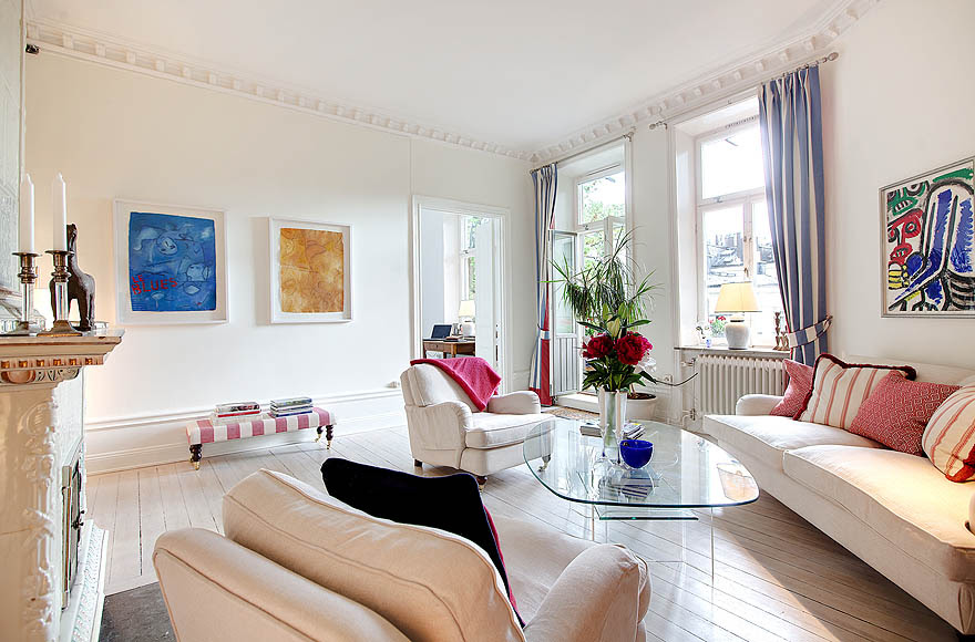 Bright Renovated Apartment With Fresh Modern Look   iDesignArch ...