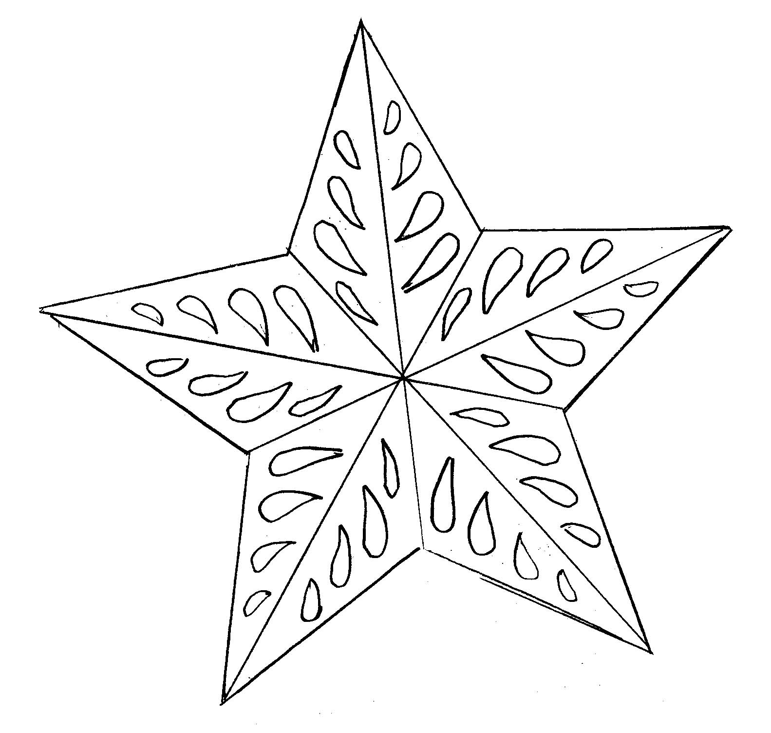 Star template.