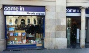 Come In English Bookshop Barcelona