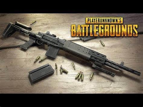 pubg update  mk ebr sniper rifle weapon