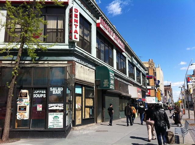 Fulton Street Mall, near Adams St.