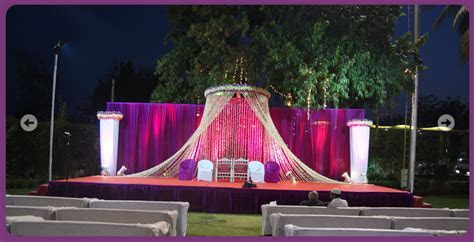 A WEDDING PLANNER: Indian Wedding and Reception Stage