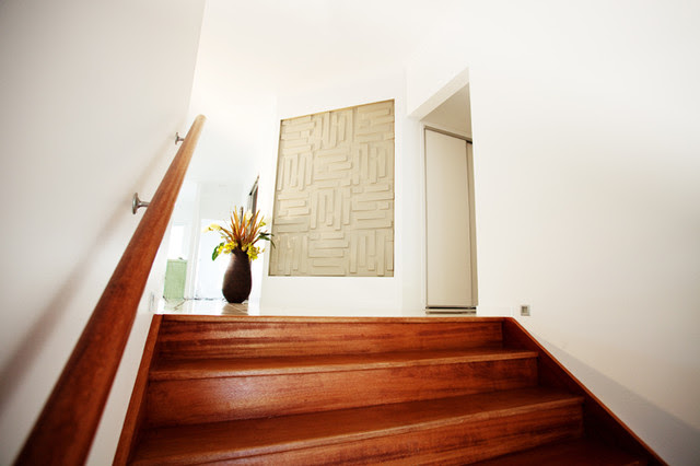 Eco Lodge Australia with our embossed wall panels - contemporary ...