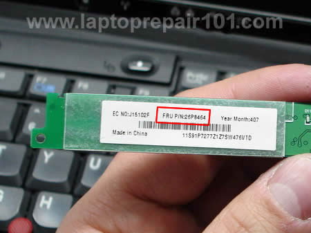 Inverter FRU part number