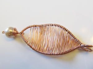 EyleneOlsen: Autumn Leaves, Wire Jewelry Tute free